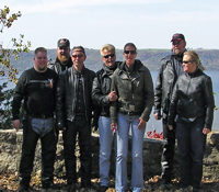 Motorcycle poker run from Wisconsin, Minnesota and Illinois